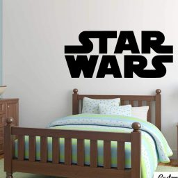 Custom Star Wars Gifts Personalized Boys Name Wall Decal Star Wars Inspired Kids Room Decor Star Wars Boys Room Q190 Star Wars Name Decal
