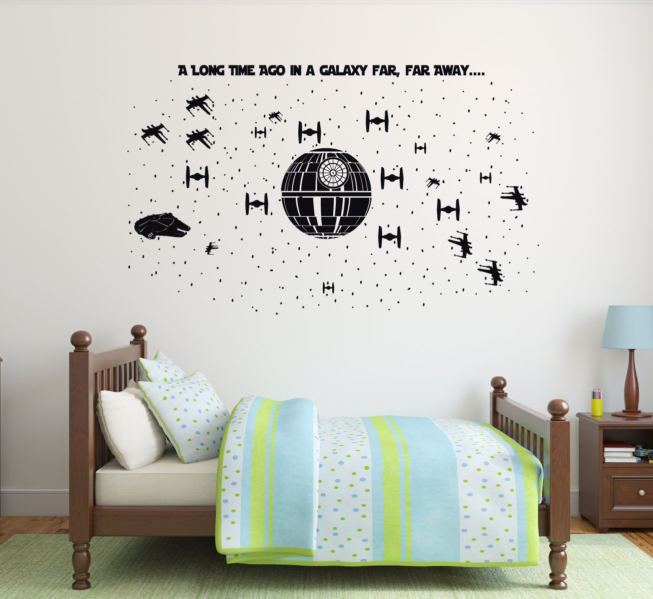 Amazon Com Best Design Amazing Kylo Ren Star Wars Wall Decal Personalized Name Decal Sticker Boys Decor Made In The Usa Large Size Kitchen Dining