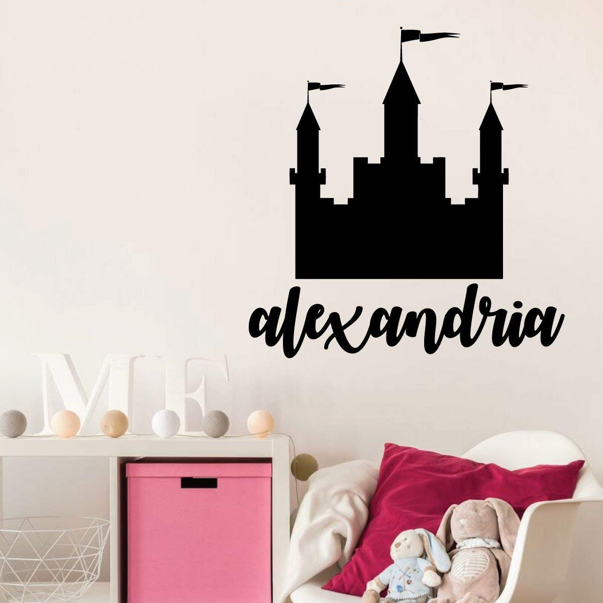 Wall Decal for Girls Room Vinyl Decor Wall Decal ...