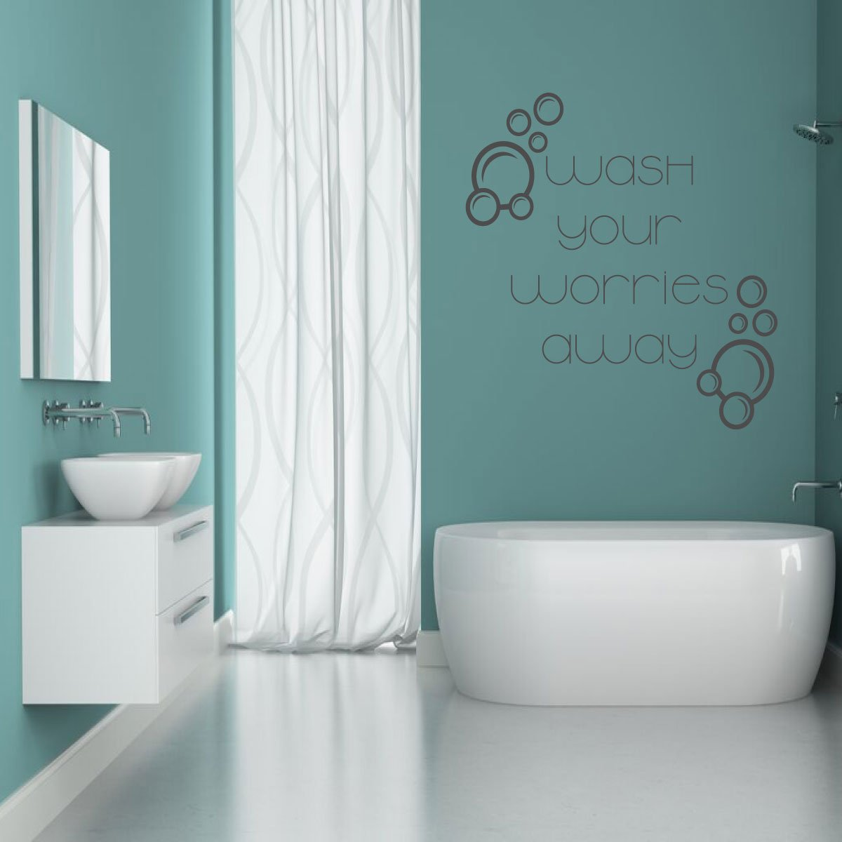 Wash Your Worries Away Quote Lettering Bathroom Shower Bathtub Decor Customvinyldecor Com Comedian josh potter joins nikki and anya marina to chat about getting dissed by smart people the human cockroach josh potter gets to do something special today. wash your worries away quote lettering bathroom shower bathtub decor