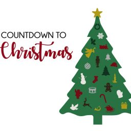 Advent Calendar Christmas Tree Ornaments Countdown